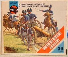 Waterloo British Artillery