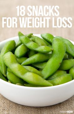 Serve up these smart snacks for weight loss.