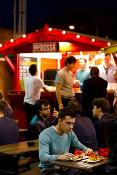 Street food is still all the rage in London - here's Urban Food Fest in SHoreditch