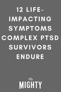 LifeImpacting Symptoms of Complex PTSD PTSD post traumatic stress disorder veterans trauma quotes recovery symptoms signs truths coping skills mental health f. Stress Disorders, Anxiety Disorder, Panic Disorder, Mental Health Facts, Trauma Quotes, Abuse Quotes, Ptsd Recovery, Ptsd Symptoms, Narcissist