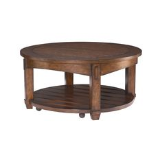 Hammary Furniture - High Point, NC - TACOMA :: ROUND COCKTAIL TABLE