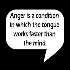 Anger is a...