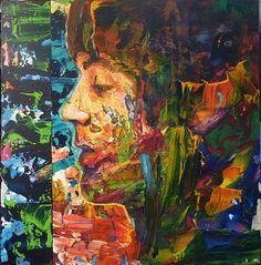 "Saatchi Art Artist Rémi Jouandet; Painting, ""Portrait of Paul Mac Cartney /Wild…"