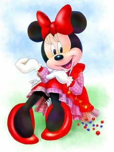 Lovely Minnie Mouse