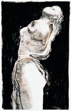 Jim Dine.  Love the high contrast.