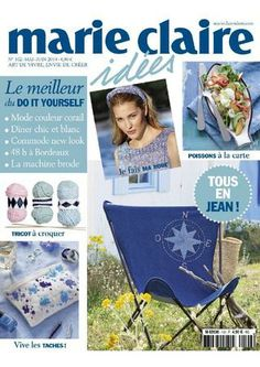 Mcl i 102 mai juin 2014 Projects To Try, Cross Stitch, Activities, Embroidery, Sewing, Magazines, Palestine, Crochet, Colors