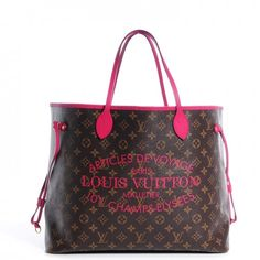LOUIS VUITTON Monogram Ikat Neverfull GM in Indian Rose Like New | Buya