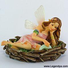 figurine de fée faerie glen Materkiss - Boutique Fées et Féerie Legendya