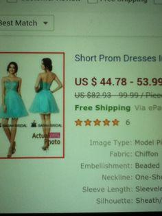 Light Blue Formal Dress 3