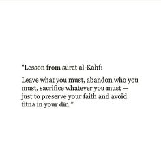 Lessons from Surah al-Kahf for protection against the anti-christ Allah Quotes, Muslim Quotes, Quran Quotes, Religious Quotes, Faith Quotes, Life Quotes, Beautiful Islamic Quotes, Islamic Inspirational Quotes, Hadith