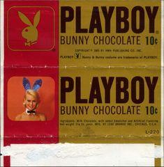 playboy chocolate. yum? (wanken blog) #vintagePackaging