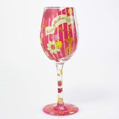WINE GLASS HAPPY MOTHER'S DAY - GLS11-5534E