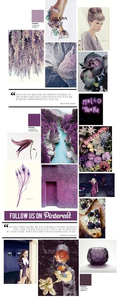 Curating the Curated: Purple | Trendland: Fashion Blog & Trend Magazine  Want a design like this? Visit our website at www.firethorne.org! #magazines #zine #journal #design