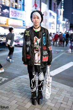 Yana, 22 years old | 24 December 2014 | #Fashion #Harajuku (原宿) #Shibuya (渋谷)…