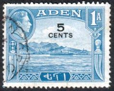 Aden 1951 SG 36 The Harbour Fine Used SG 36 Scott 36 Condition Fine Used Other Arabian Stamps Here