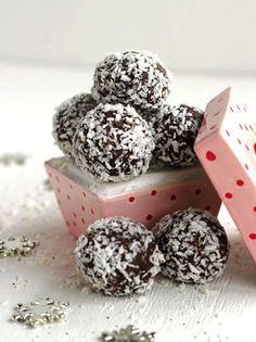 Almond Joy Avocado Truffles – {Gluten Free, No Sugar Added, High Protein} - Food Faith Fitness