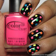 Neon Dotticure | Addicted to Polish