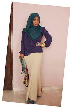 Modern Muslimah Dress Ideas