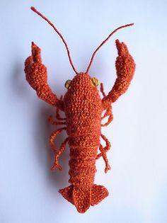 Crochet Lobster |  H I P O T A