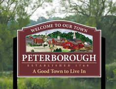Peterborough, NH A Good Town to Live In!