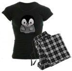 Baby Penguin Pajama Shirt With Lounge Pants