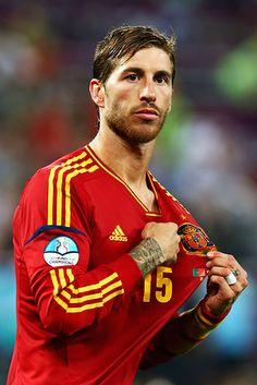 Sergeo Ramos - Spanish team