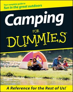Camping For Dummies on Scribd
