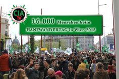 CIA-TV° - Trailer Hanfwandertag 2015 - Take Your Rights ! Tv, News, Hiking, Tvs, Television Set, Television
