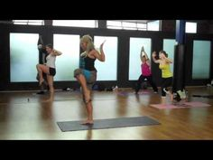 PiYo Strength! An amazing fusion of Pilates, Yoga, Dance & Stretch. Similar to Group Centergy and currently kicking my butt