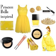 """Princess Belle"" by pet387 on Polyvore"