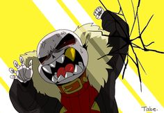 sans underfell. Huh, I wonder what he's saying?