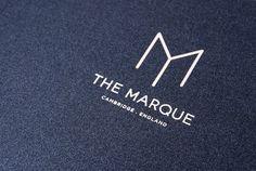 Design by Tom Love The Marque - Luxury Apartments Branding Design Identity