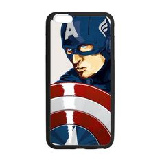 Captian America Steve Rogers Case for iPhone 6 Plus