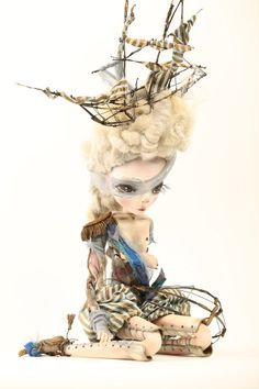 Hey, I found this really awesome Etsy listing at https://www.etsy.com/listing/173754409/ondine-ooak-jointed-art-doll