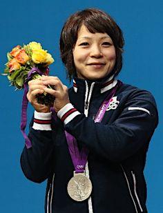 三宅宏実  Hiromi Miyake  [Weightlifting Women's 48kg] Silver