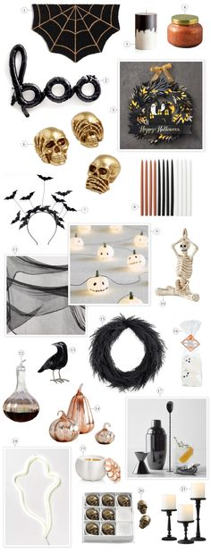 Effortless & Cute Halloween Decor | lark & linen