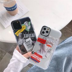 Luxury Art Letter Label iPhone Case - For iphone11Pro / 1