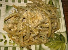 """Nana s Yellow (Wax) String Beans from Food.com: My Polish grandmother never used recipes. This so simple dish was the most difficult to duplicate because of it's simplicity. There are versions of this in Polish cookbooks using bread crumbs but they lacked the slightly sweet, butter baked flavor of cracker crumbs that accent the mild taste of the yellow beans. I haven't posted this recipe before because it sounds """"too simple"""" but it's one of my most favorite!"""