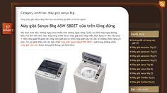 Dòng máy giặt sanyo 8kg cửa trước, cửa trên, lồng ngang, lồng nghiêng, lồng đứng thích hợp cho những gia đình có từ 4-6 người http://maygiatsanyo7kg.wordpress.com/category/may-giat-sanyo-2/may-giat-sanyo-8kg/