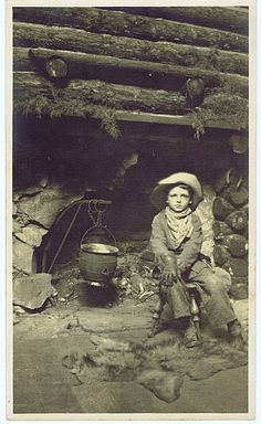 Little Cowboy, late 1800's