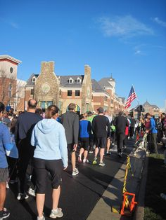 On Dec. 31, 2011, Ed participated in the Ringing In Hope Walk, Run and Fun event in Brambleton, Va., running 5K while Colleen walked 1K. Brambleton is near Ashburn in Loudoun County.