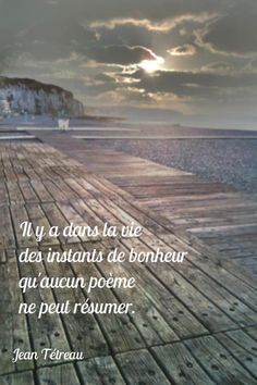 It is in the life of the moments of happiness that any poem can summarize. Poetry Quotes, Words Quotes, Love Quotes, French Words, French Quotes, Like In French, Basic Quotes, Proverbs Quotes, Chicago