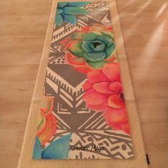 Watercolor Yin Yoga
