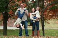 Fun family photo idea