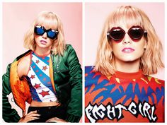 God Save the Queen and all: Lily Allen para House of Holland Eyewear #sunglasses #lilyallen #houseofholland