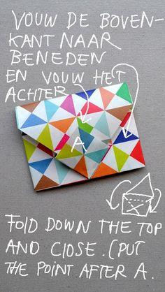 ingthings: DIY little origami enveloppes