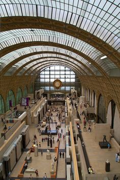Musée d'Orsay in Paris France. Spent an entire afternoon getting lost among all the masterpieces. Oh The Places You'll Go, Places Ive Been, Places To Visit, France 3, Paris France, Beautiful Buildings, Beautiful Places, Lafayette Paris, Place Vendôme