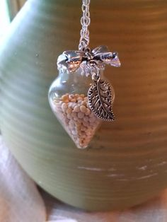 Faith of a Mustard Seed Teardrop Glass Dome by TheBackwoodsGypsyCo