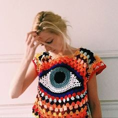 found this on Pinterest this morning! How's this for some Crochet Inspiration? Maker unknown so tag her if you know her.