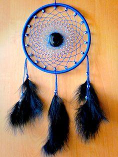 Dreamcatcher Blue dream catcher Wall hanging par DreamsDimension